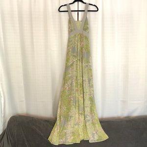 Beautiful Floral Printed Woven Maxi Dress